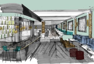 The Lucky Pig Fulham - Concept Image