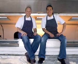 Street Kitchen Founders, Jun Tanaka and Mark Jankel