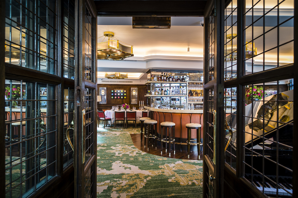 The Ivy's private dining room reopens