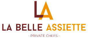 La Belle Assiette Logo - Color with Tagline EN - Transparent