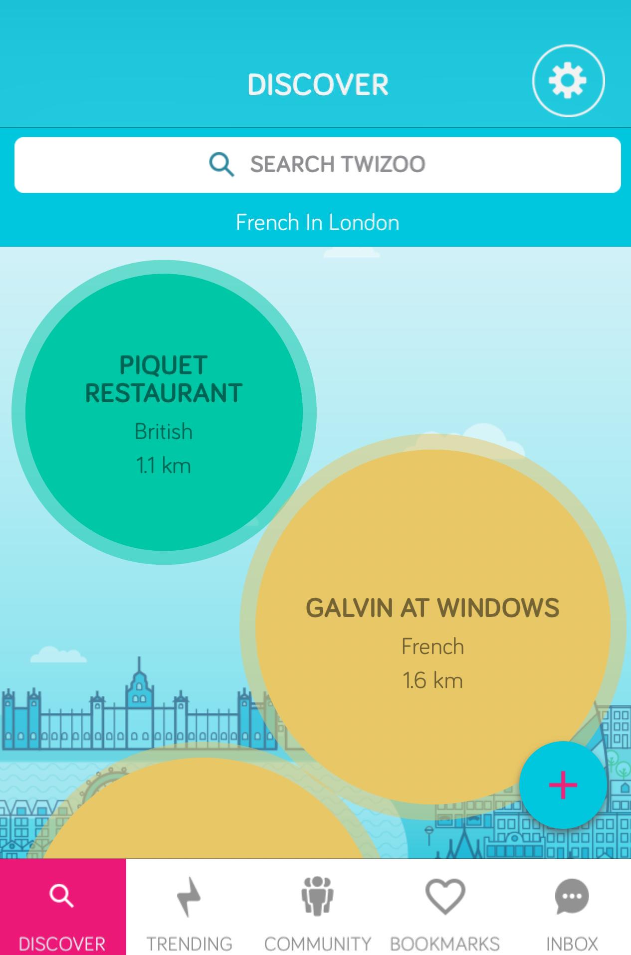 This week\'s top 5 trending London restaurants via Twizoo   Harden\'s