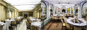 Then and now: How Daphne's in Chelsea (once a fave hangout of Princess Diana) has changed over the years. 1992 (left) and 2015 (right).
