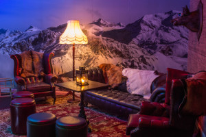 Sipsmith ski lodge