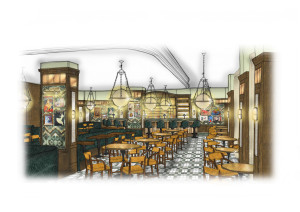The Ivy Kensington Brasserie Rendering Image