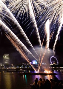 Columbia NYE London fireworks copy