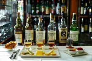 Whisky Pairing at The Capital bar