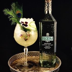 The Botanist floral spritz £12.50 - served inside