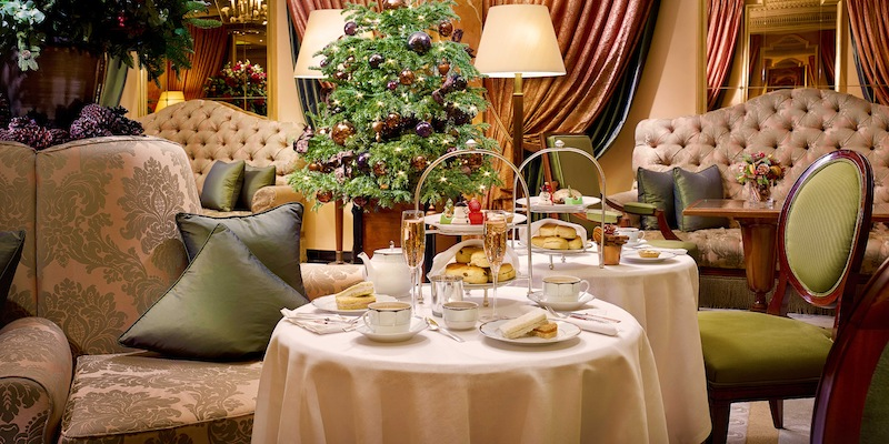 The Dorchester Hotel, Promenade Lounge, Afternoon Tea