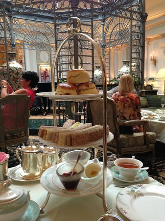 Savoy Thames Foyer Afternoon Tea