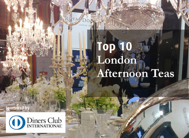 Top 10 London Afternoon Teas