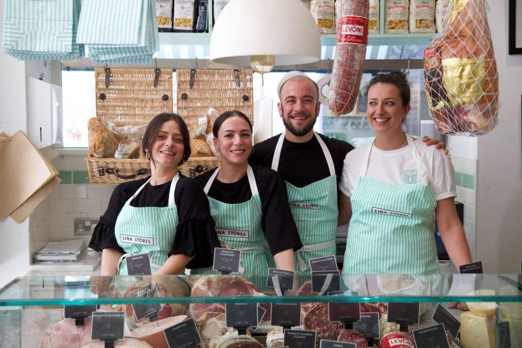 Lina Stores staff